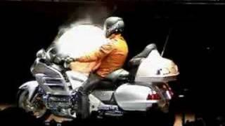 Honda Goldwing Airbag official demo