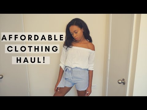 SHEIN SUMMER CLOTHING TRY-ON HAUL! | TOMA J