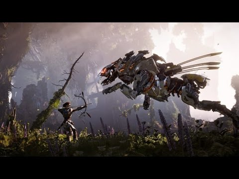 Horizon Zero Dawn Official STORY Trailer (PS4 / PS4 PRO 2017)