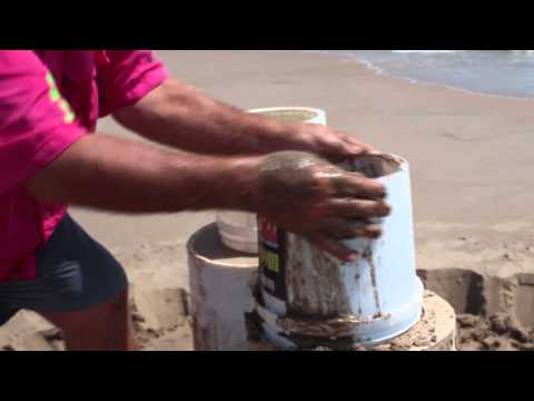 #How to build a #sandcastle  - #Advanced Techniques - #beginning your #Sandcastles on the beach!