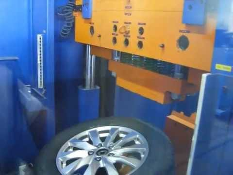 Тест на удар спицы автомобильного диска WSP Italy W2410 NYLA CRV (Honda)