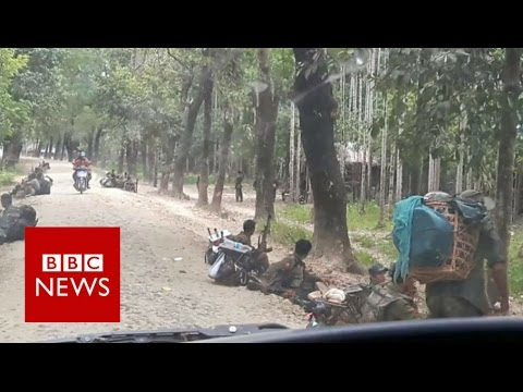 Myanmar Rakhine: Inside the closed Rakhine region - BBC News