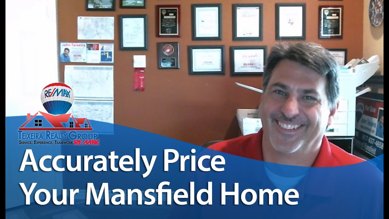 How to Price Your Mansfield Home in Today's Market