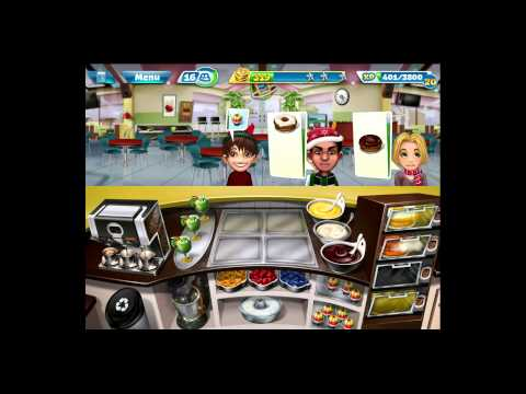 Cooking Fever [iPad Gameplay] Bakery Level 38