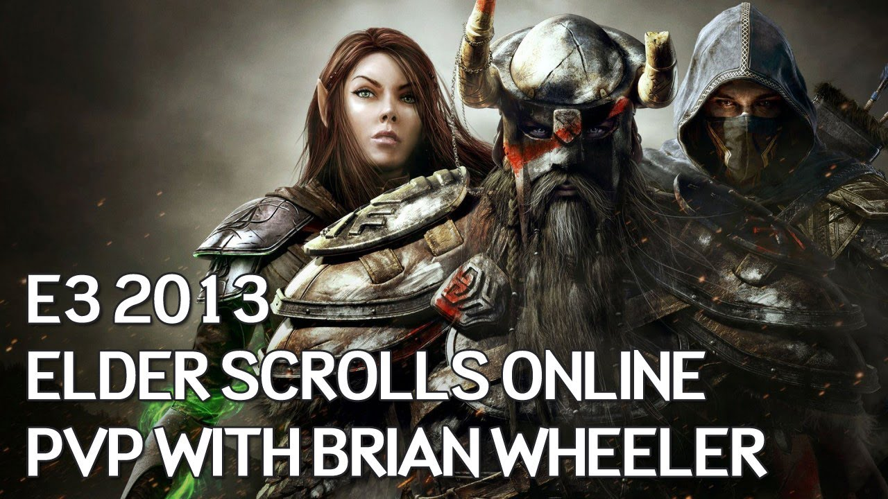 Elder Scrolls Online: видео - Talking PVP with Brian Wheeler