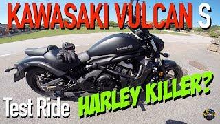10. Kawasaki Vulcan S 650 the Harley Davidson Killer?