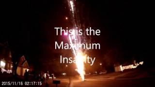Maximum insanity firework