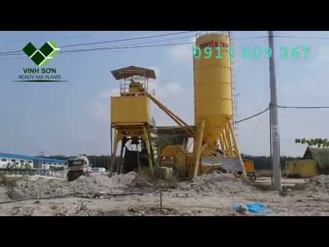 Non-foundation batching plant - Vinh Sơn Co.; Ltd