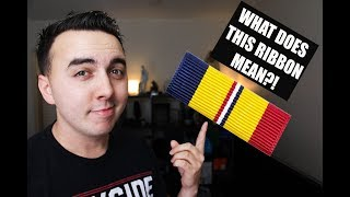 Video THE MOST CONTROVERSIAL MILITARY RIBBON?! MP3, 3GP, MP4, WEBM, AVI, FLV Agustus 2018