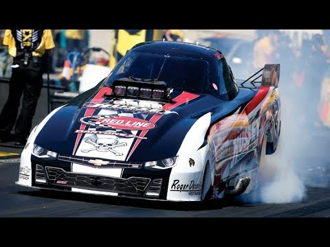 2018 Dodge NHRA Nationals Top Alcohol Funny Car Winner Sean Bellemeur