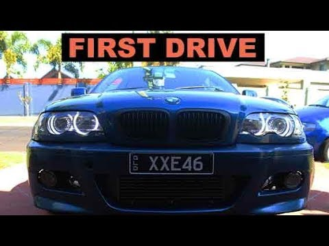 BMW E46 TURBO BUILD | ep 3 | FIRST START AND DRIVE