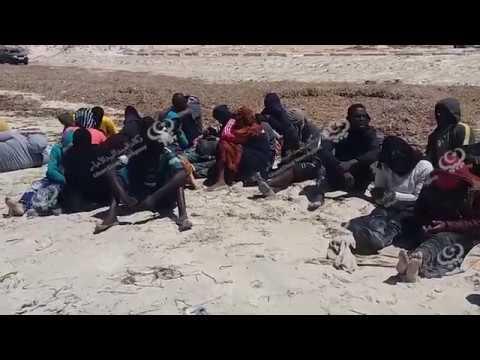 إنقاذ (130) مهاجرا غير قانوني غرب شركة مليتة للغاز