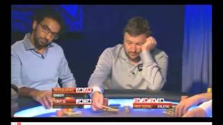 PartyPoker Big Game 2013 - Tony G And Sekularac Plays A Big Pot