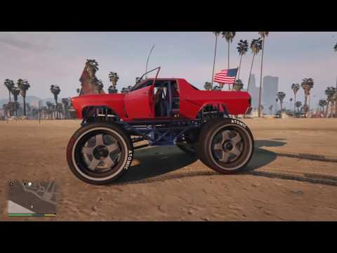 Gta 5 - how to upgrade a monster truck (WITHOUT MODS!)