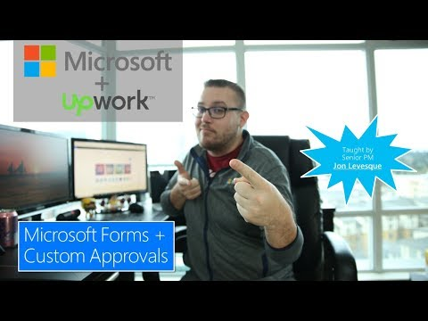 Microsoft Flow Approval Workflow with Microsoft Forms