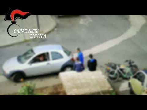 Spaccio ad Acireale GUARDA IL VIDEO