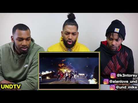 BTS (방탄소년단) MIC DROP (STEVE AOKI REMIX) [REACTION] (видео)