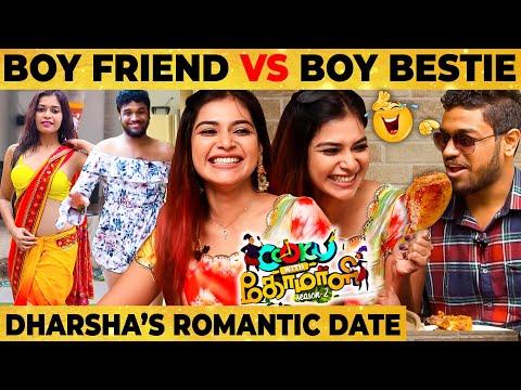 """""""ஏய் Darling"""" Nikki-க்கு Ooti Vitta Dharsha! Cook with Comali Dharsha Gupta Flirt & Fun Date"""
