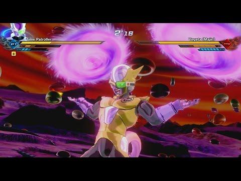 Dragon Ball Xenoverse 2: Frieza, Saiyan, and Namek Race Custom Time Patroller Gameplay [EXCLUSIVE]