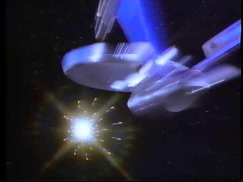 Star Trek VI - The Undiscovered Country (1991) Trailer (VHS Capture)