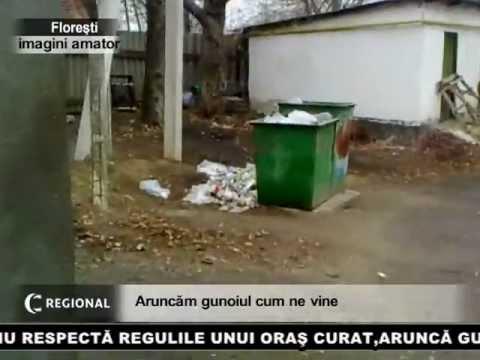 Aruncăm gunoiul cum ne vine