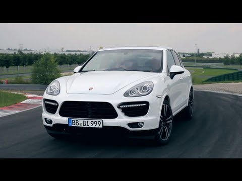 The New Porsche Cayenne Turbo S Driven On Track