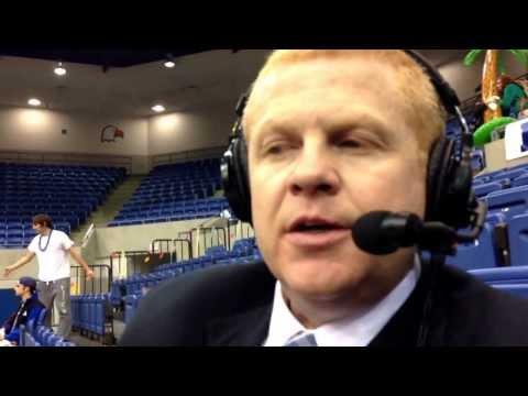 C-N basketball: Chuck Benson postgame LMU 2-26-14