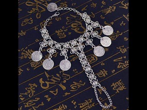 Silver Jewellery Hand Chain Bracelets For Women