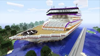 Minecraft Xbox - Luxory Cruise Ship - Prestige Sur La Mer - Part 1