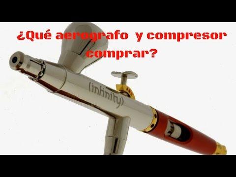 ¿Que Aerografo y compresor comprar para miniaturas?/What airbrush should I buy?