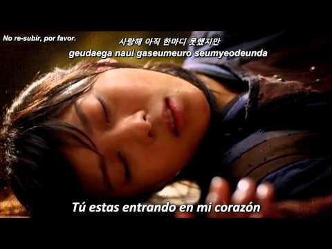 Empress Ki Ost - Love Wind (Sub español+Romanization + Hangul)