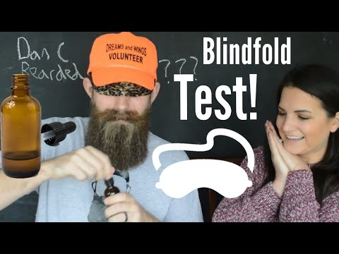 Blindfold Beard Oil Smell Test! Sam tests the teacher!