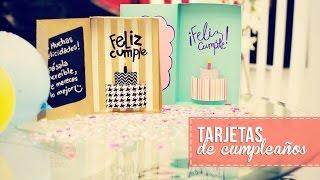 Tarjeta de cumpleaños 3D -Anie - YouTube