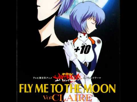 Fly Me to the Moon (Ayanami Version) +10 Years (видео)