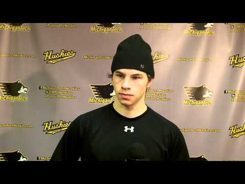 Blake Pietila Postgame Interview vs. UAH, 2-7-14