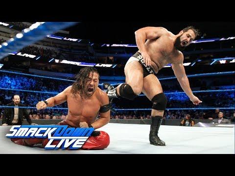 Shinsuke Nakamura vs. Rusev: SmackDown LIVE, March 20, 2018