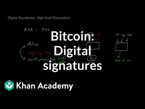 Digital - A high-level explanation of digital signature schemes, which are a fundamental building block in many cryptographic protocols. Video by Zulfikar Ramzan. Zulf...