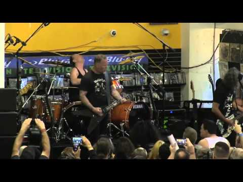Full Metallica Record Store Day Show