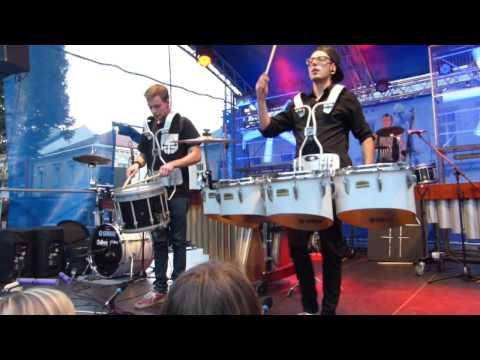 Na záver kultúrneho leta vystúpil Drišľak, zahrali českí bubeníci a domáci rocke