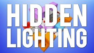 Minecraft: Fancy Modern Hidden Lighting