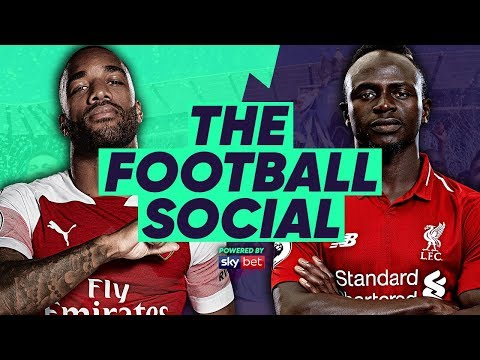 Arsenal 1-1 Liverpool | Lacazette Saves Arsenal's Unbeaten Streak! | The Football Social