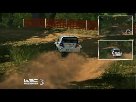 WRC 3 : gameplay au Rally Philips d'Argentine