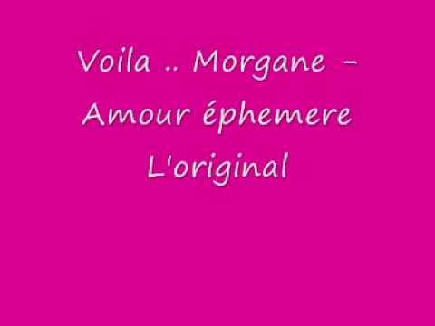 morgane - Voila ceii l'original vu ki y'en na plein qui la veulent ... bonne écoute bizzou a touSSSS.