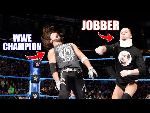 10 Jobbers Who Shockingly Defeated WWE Main Event Wrestlers & WWE Champions