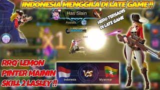 Video RRQ Lemon Mengamuk Pake Lasley Kontes Arena Indonesia VS Myanmar Caster Abal MP3, 3GP, MP4, WEBM, AVI, FLV Agustus 2018