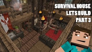 Lets Build - The Perfect Survival House [INTERIOR] #3