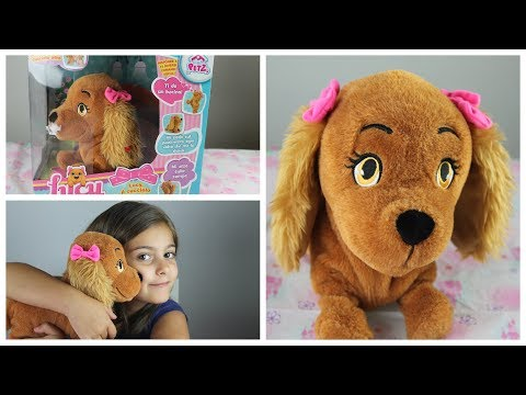 La cagnolina Lucy il cucciolo di cane giocattolo interattivo risponde ai comandi vocali