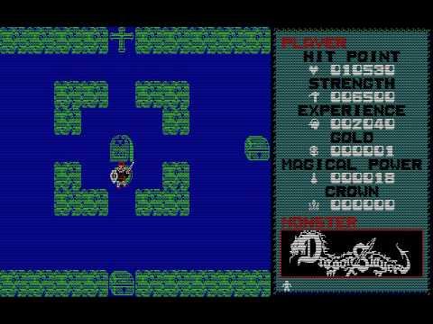 [PC-88] Dragon Slayer (1984) (Nihon Falcom)