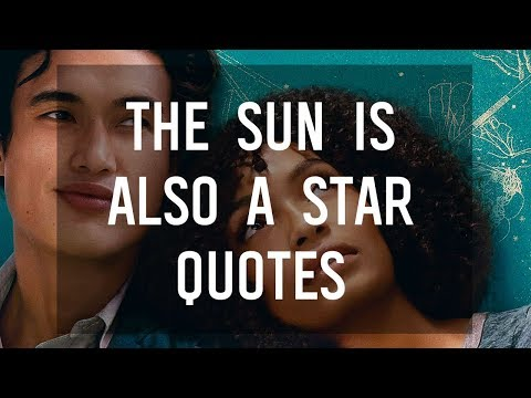 The Sun Is Also a Star Quotes by Nicola Yoon