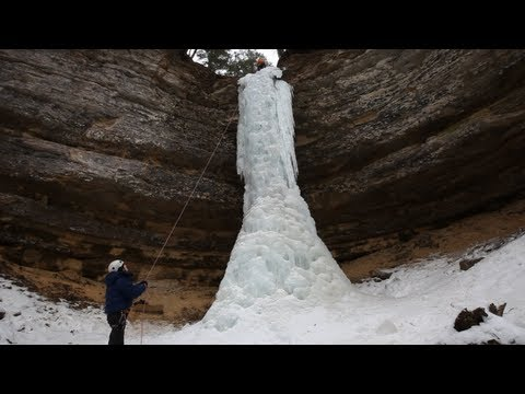 Ice Climbing - A Pure Michigan Winter